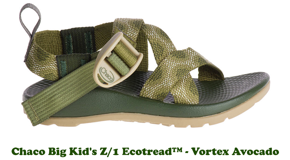 Shop the Kid's Chaco Z/1 Ecotread at ShoeStores.com